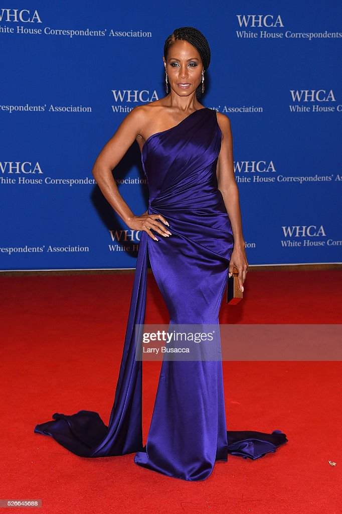 Actress Jada Pinkett Smith attends the 102nd White House Correspondents' Association Dinner on April 30, 2016 in Washington, DC.