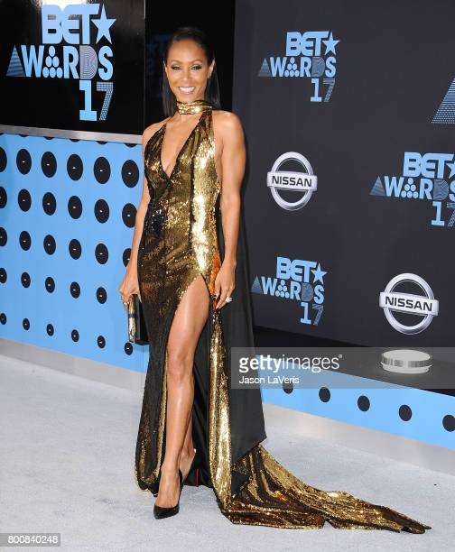 Actress Jada Pinkett Smith attends the 2017 BET Awards at Microsoft Theater on June 25 2017 in Los Angeles California