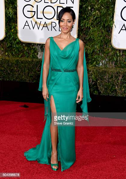 Actress Jada Pinkett Smith attends the 73rd Annual Golden Globe Awards held at the Beverly Hilton Hotel on January 10 2016 in Beverly Hills California