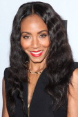 Actress Jada Pinkett Smith attends the closing night at the Pan African film festival 'Free Angela And All Political Prisoners' at Rave Cinemas on...
