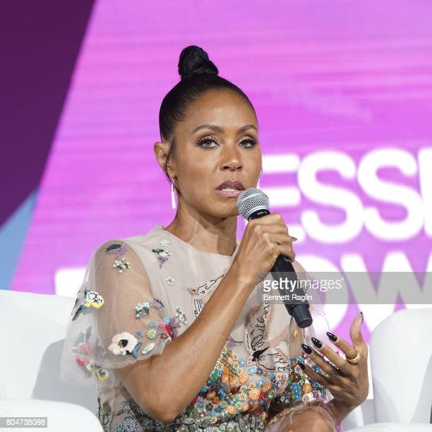 Actress Jada Pinkett Smith attends the Essence Empowerment Experience during the 2017 Essence Festival Day 1 on June 30 2017 in New Orleans Louisiana