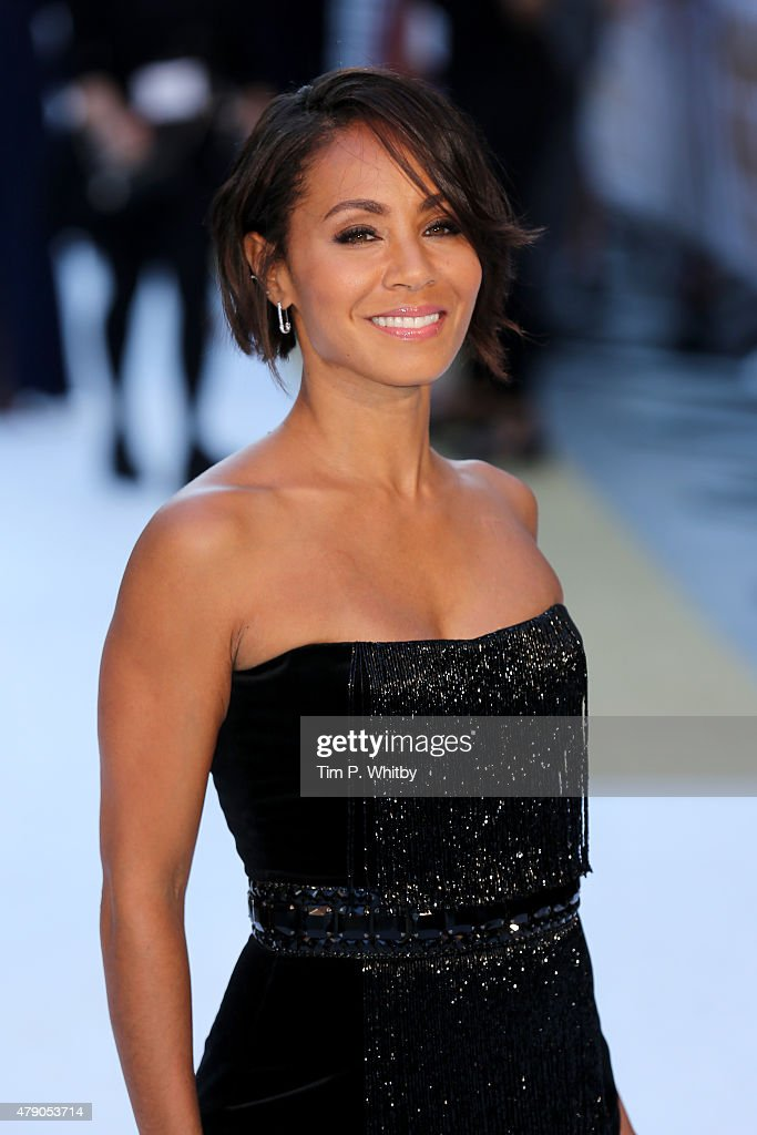 Actress Jada Pinkett Smith attends the European Premiere of 'Magic Mike XXL' at Vue West End on June 30, 2015 in London, England.
