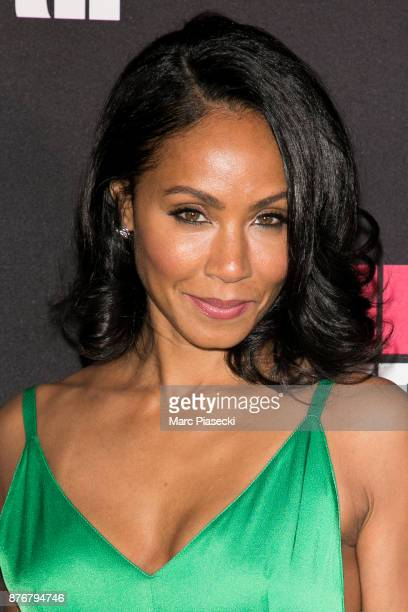 Actress Jada Pinkett Smith attends the 'Girls Trip' Premiere at UGC Cine Cite Bercy on November 20 2017 in Paris France
