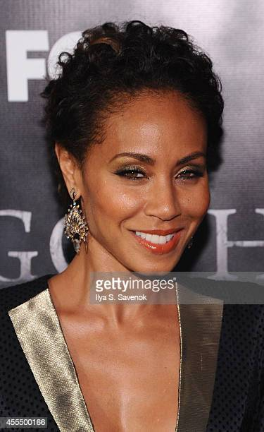 Actress Jada Pinkett Smith attends the 'Gotham' series premiere at The New York Public Library on September 15 2014 in New York City