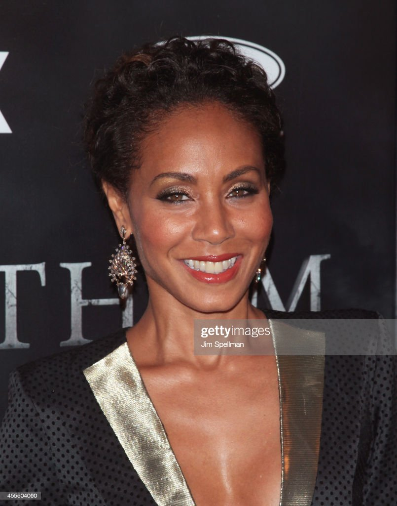 Actress Jada Pinkett Smith attends the 'Gotham' Series Premiere at The New York Public Library on September 15, 2014 in New York City.