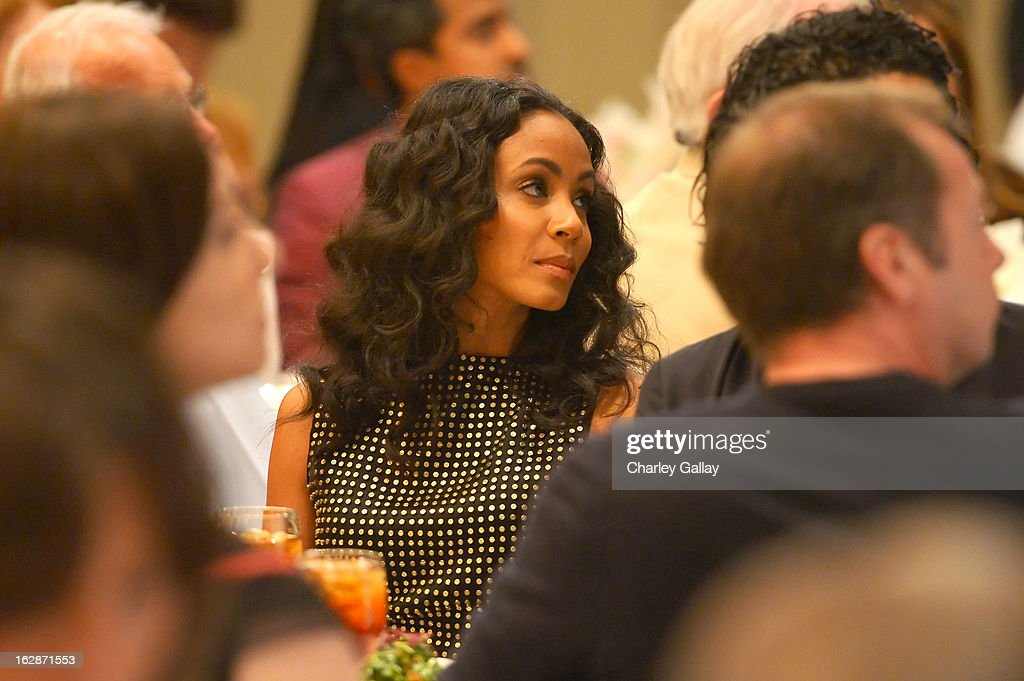 Actress Jada Pinkett Smith attends the launch of Chime for Change, founded by Gucci, at TED held at The Westin on February 28, 2013 in Long Beach, California.