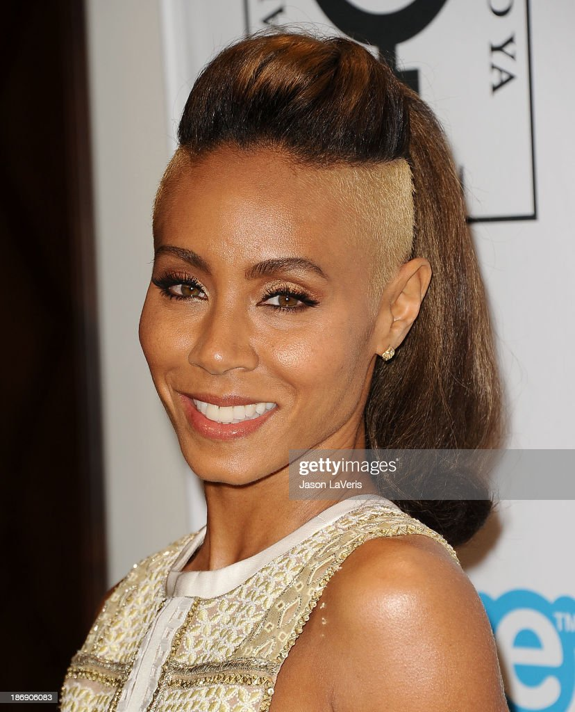 Actress <a gi-track='captionPersonalityLinkClicked' href=/galleries/search?phrase=Jada+Pinkett+Smith&family=editorial&specificpeople=201837 ng-click='$event.stopPropagation()'>Jada Pinkett Smith</a> attends the 'Make Equality Reality' event at Montage Beverly Hills on November 4, 2013 in Beverly Hills, California.