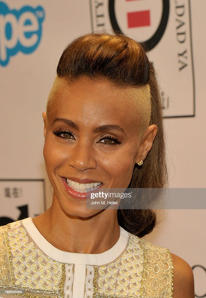 Actress <a gi-track='captionPersonalityLinkClicked' href=/galleries/search?phrase=Jada+Pinkett+Smith&family=editorial&specificpeople=201837 ng-click='$event.stopPropagation()'>Jada Pinkett Smith</a> attends the 'Make Equality Reality' event at the Montage Beverly Hills on November 4, 2013 in Beverly Hills, California.
