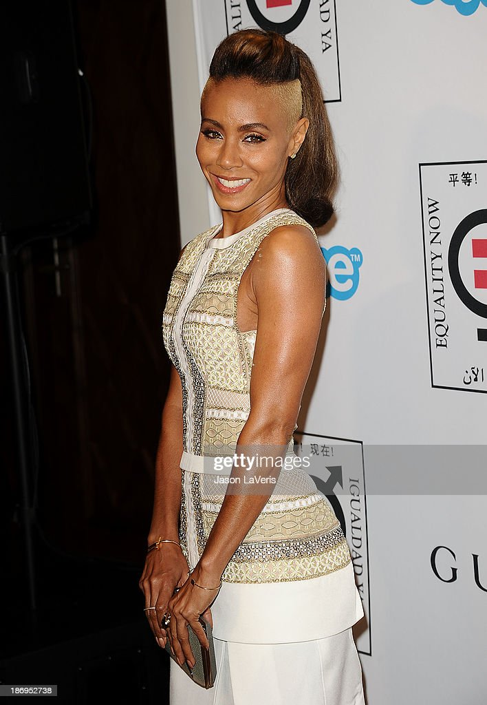 Actress Jada Pinkett Smith attends the 'Make Equality Reality' event at Montage Beverly Hills on November 4, 2013 in Beverly Hills, California.