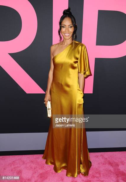 Actress Jada Pinkett Smith attends the premiere of 'Girls Trip' at Regal LA Live Stadium 14 on July 13 2017 in Los Angeles California