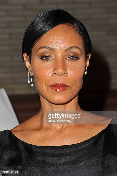 Actress Jada Pinkett Smith attends the US Premiere of Debbie Allen's 'Freeze Frame' at The Wallis Annenberg Center for the Performing Arts on...