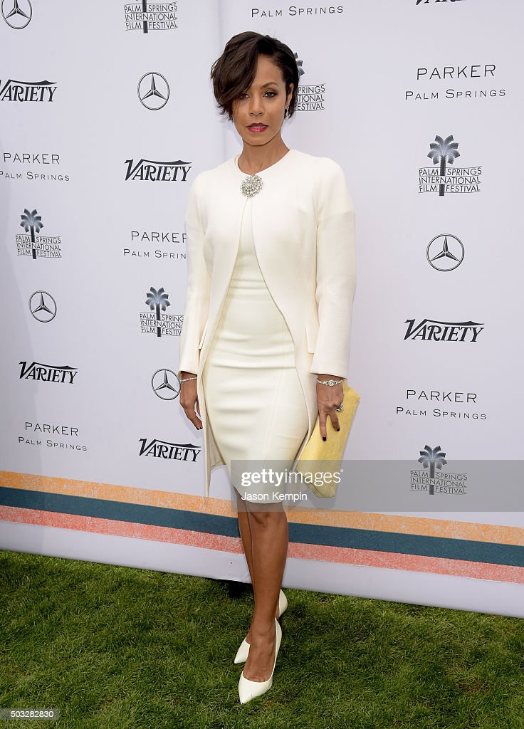 Actress Jada Pinkett Smith attends Variety's Creative Impact Awards and 10 Directors to Watch Brunch Presented By Mercedes-Benz at The 27th Annual Palm Springs International Film Festival on January 3, 2016 in Palm Springs, California.