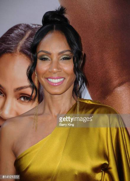 Actress Jada Pinkett Smith atttends the premiere of Universal Pictures' 'Girls Trip' at Regal LA Live Stadium 14 on July 13 2017 in Los Angeles...