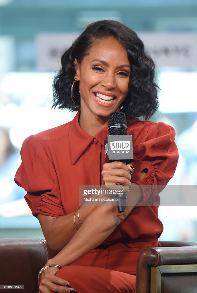 Actress Jada Pinkett Smith visits the Build Series to discuss the movie 'Girls Trip' at Build Studio on July 17, 2017 in New York City.