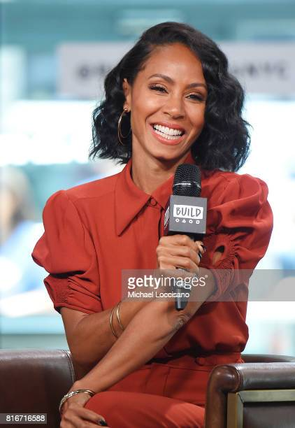 Actress Jada Pinkett Smith visits the Build Series to discuss the movie 'Girls Trip' at Build Studio on July 17 2017 in New York City