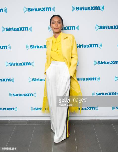 Actress Jada Pinkett Smith visits the SiriusXM Studios on July 19 2017 in New York City