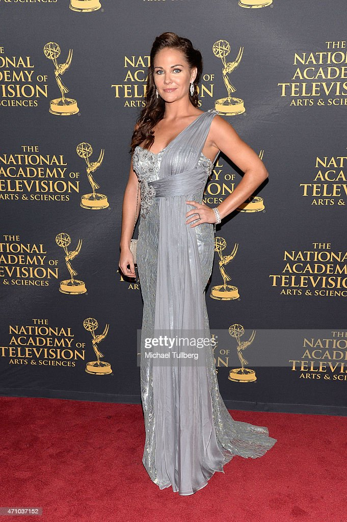 Actress Jade Harlow attends the 42nd Annual Daytime Creative Arts Emmy Awards at Universal Hilton Hotel on April 24, 2015 in Universal City, California.