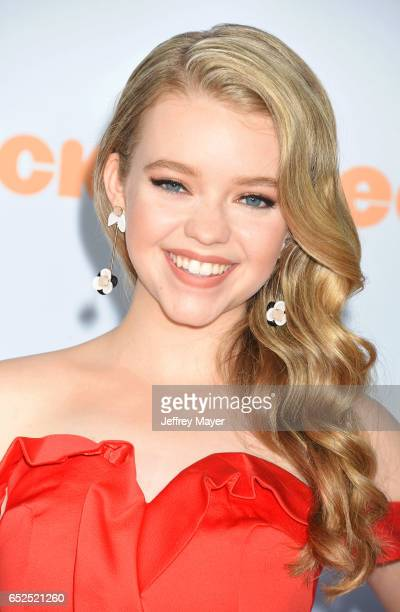Actress Jade Pettyjohn arrives at the Nickelodeon's 2017 Kids' Choice Awards at USC Galen Center on March 11 2017 in Los Angeles California