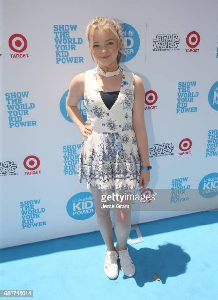 Actress Jade Pettyjohn at UNICEF Kid Power Los Angeles event at Microsoft Square on May 13 2017 in Los Angeles California