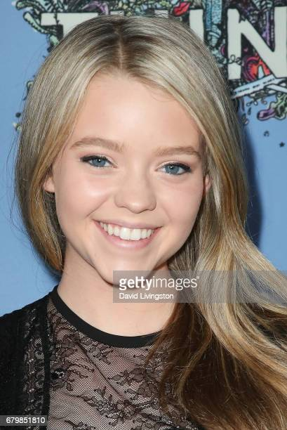 Actress Jade Pettyjohn attends the screening of Warner Bros Pictures' 'Everything Everything' at the TCL Chinese Theatre on May 6 2017 in Hollywood...