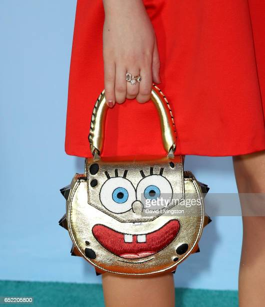Actress Jade Pettyjohn purse detail attends Nickelodeon's 2017 Kids' Choice Awards at USC Galen Center on March 11 2017 in Los Angeles California