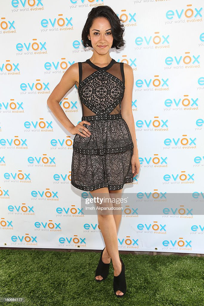 Actress Jael de Pardo attends the green carpet launch for the Evox TV debut of Ed Begley's new family show, 'On Begley Street' on September 15, 2013 in Pasadena, California.