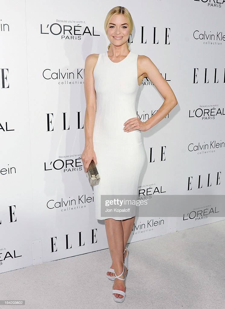 Actress Jaime King arrives at the 19th Annual ELLE Women In Hollywood Celebration at the Four Seasons Hotel Los Angeles at Beverly Hills on October...
