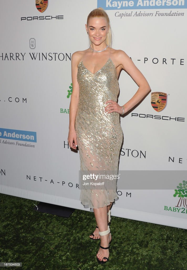 Actress <a gi-track='captionPersonalityLinkClicked' href=/galleries/search?phrase=Jaime+King+-+Actress&family=editorial&specificpeople=206809 ng-click='$event.stopPropagation()'>Jaime King</a> arrives at the 2nd Annual Baby2Baby Gala at The Book Bindery on November 9, 2013 in Culver City, California.