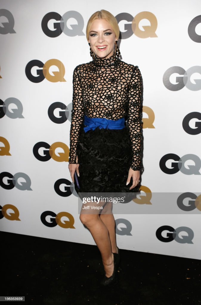 Actress <a gi-track='captionPersonalityLinkClicked' href=/galleries/search?phrase=Jaime+King+-+Actress&family=editorial&specificpeople=206809 ng-click='$event.stopPropagation()'>Jaime King</a> arrives at the GQ Men of the Year Party at Chateau Marmont on November 13, 2012 in Los Angeles, California.