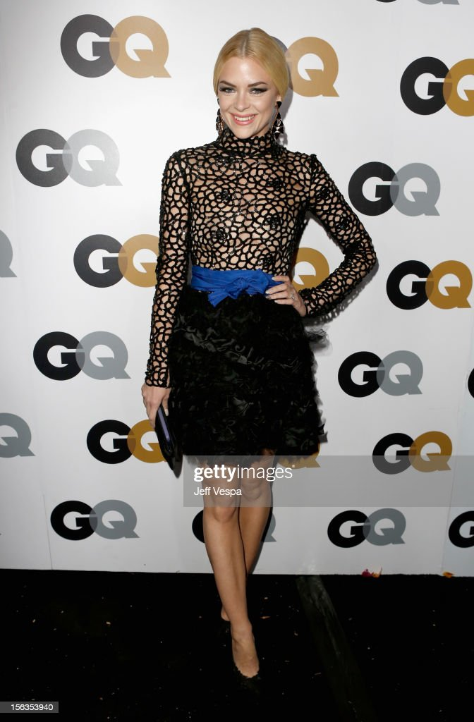 Actress <a gi-track='captionPersonalityLinkClicked' href=/galleries/search?phrase=Jaime+King+-+Attrice&family=editorial&specificpeople=206809 ng-click='$event.stopPropagation()'>Jaime King</a> arrives at the GQ Men of the Year Party at Chateau Marmont on November 13, 2012 in Los Angeles, California.