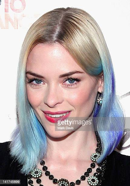 Actress Jaime King arrives at the Saint Vintage 'Love Tour' held at the Andaz hotel on March 22 2012 in West Hollywood California