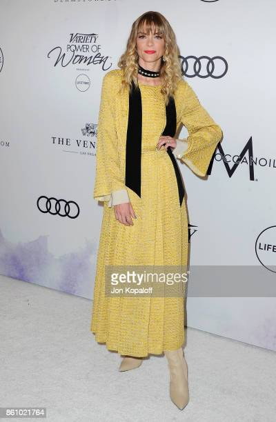 Actress Jaime King arrives at Variety's Power Of Women Los Angeles at the Beverly Wilshire Four Seasons Hotel on October 13 2017 in Beverly Hills...
