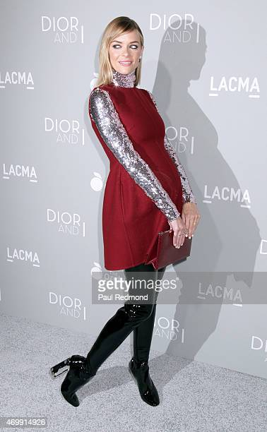 Actress Jaime King arriving at the premiere of The Orchard's 'DIOR I' at LACMA on April 15 2015 in Los Angeles California