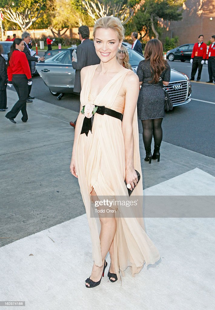 Actress Jaime King attends Audi at 21st Annual Elton John AIDS Foundation Academy Awards Viewing Party at West Hollywood Park on February 24, 2013 in West Hollywood, California.