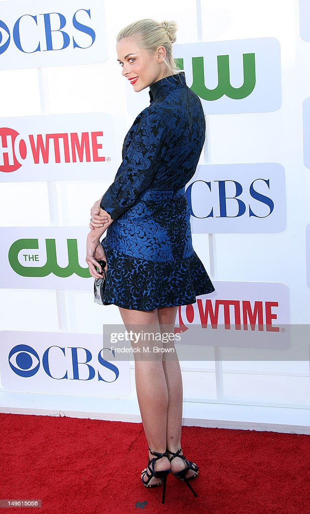 Actress Jaime King attends CW CBS And Showtime 2012 Summer TCA Party at The Beverly Hilton Hotel on July 29 2012 in Beverly Hills California