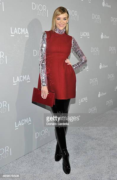 Actress Jaime King attends Dior And I Los Angeles Premiere at LACMA on April 15 2015 in Los Angeles California