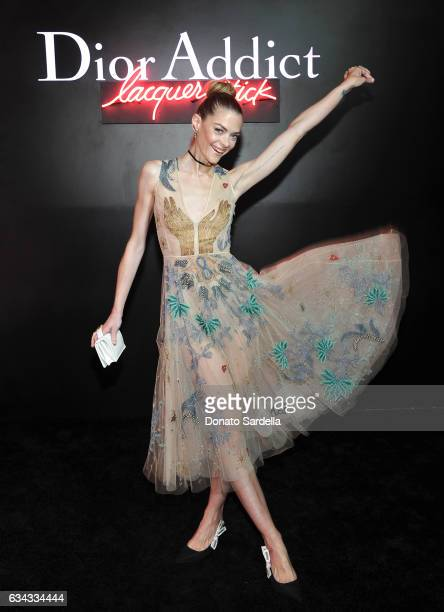 Actress Jaime King attends Dior Beauty celebrates the launch of Dior Addict Lacquer Stick in the presence of Peter Philips in LA at Delilah on...