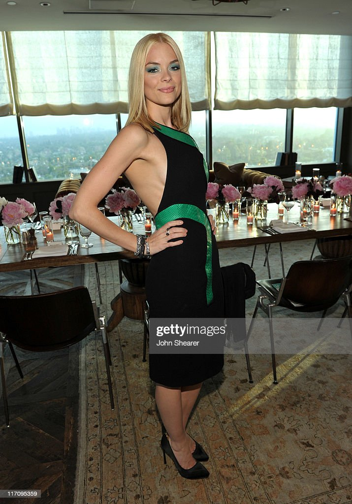 Actress Jaime King attends 'InStyle's Dinner With A Designer' for Rachel Zoe at Soho House on June 21, 2011 in West Hollywood, California.