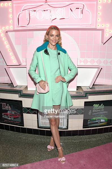 Actress Jaime King attends Poppy Jamie Suki Waterhouse Leo Seigal and Cade Hudson celebration of the launch of POP SUKI on November 2 2016 in Los...