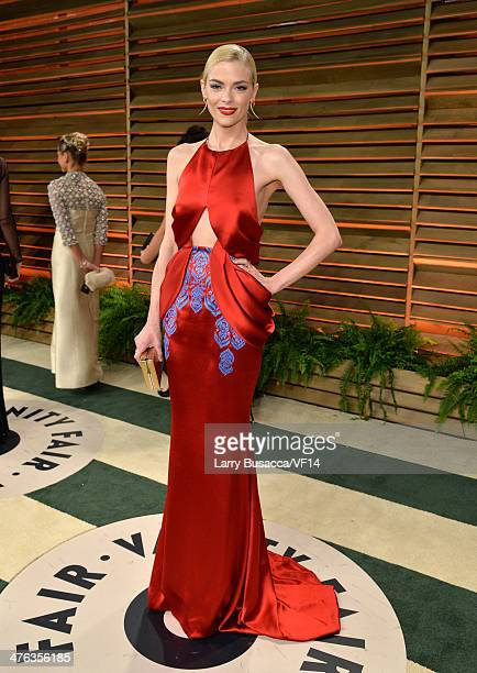 Actress Jaime King attends the 2014 Vanity Fair Oscar Party Hosted By Graydon Carter on March 2 2014 in West Hollywood California