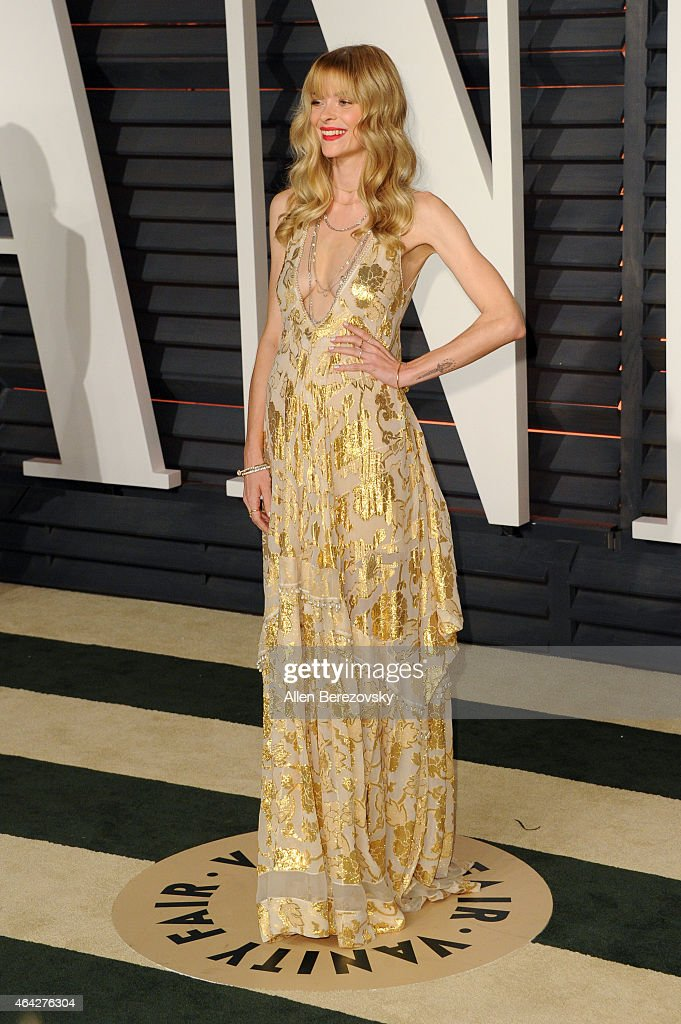 Actress Jaime King attends the 2015 Vanity Fair Oscar Party hosted by Graydon Carter at Wallis Annenberg Center for the Performing Arts on February 22, 2015 in Beverly Hills, California.