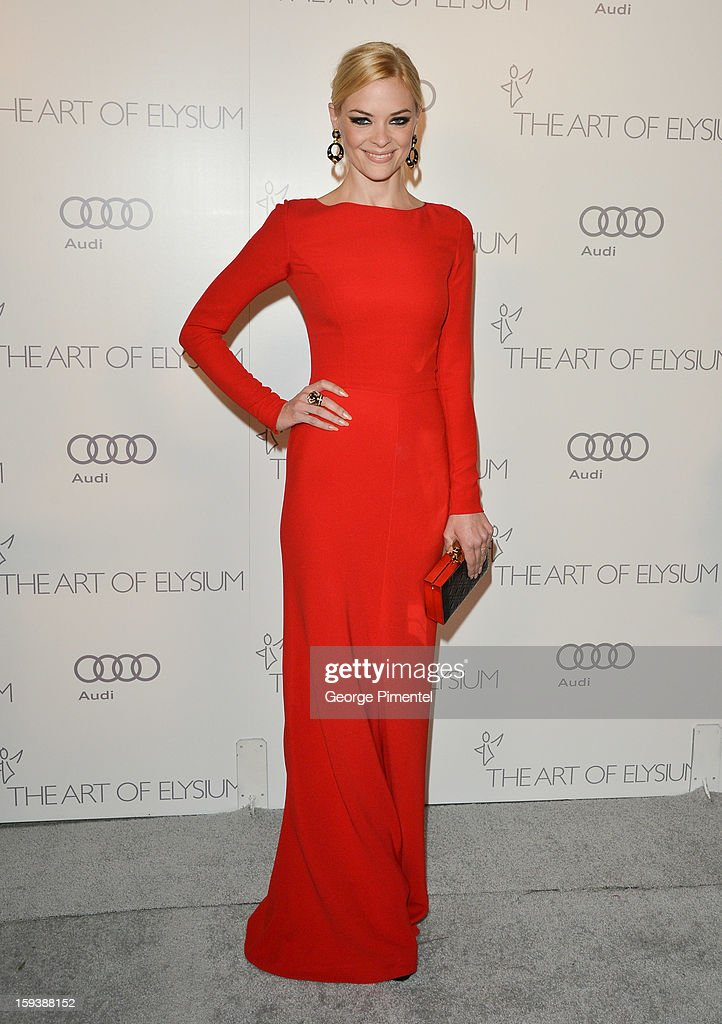Actress <a gi-track='captionPersonalityLinkClicked' href=/galleries/search?phrase=Jaime+King+-+Actress&family=editorial&specificpeople=206809 ng-click='$event.stopPropagation()'>Jaime King</a> attends The Art of Elysium's 6th Annual HEAVEN Gala presented by Audi at 2nd Street Tunnel on January 12, 2013 in Los Angeles, California.
