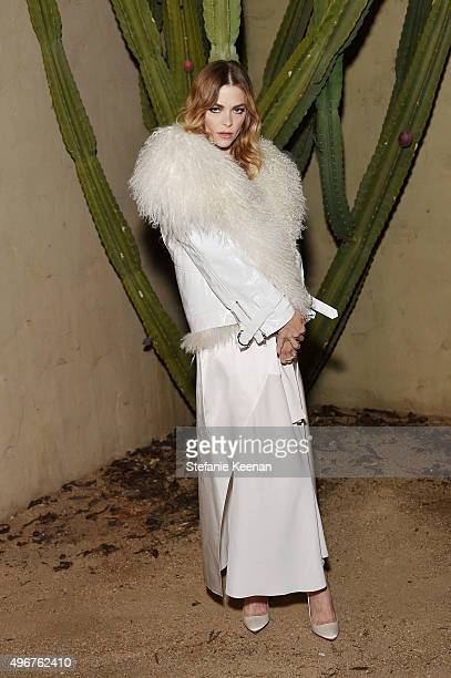 Actress Jaime King attends the August Getty Atelier SS 2016 'The Thread Of Man' Presentation With David LaChapelle at Universal Studios Hollywood on...