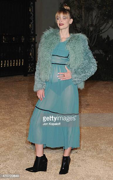 Actress Jaime King attends the Burberry 'London in Los Angeles' event at Griffith Observatory on April 16 2015 in Los Angeles California