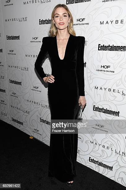 Actress Jaime King attends the Entertainment Weekly Celebration of SAG Award Nominees sponsored by Maybelline New York at Chateau Marmont on January...