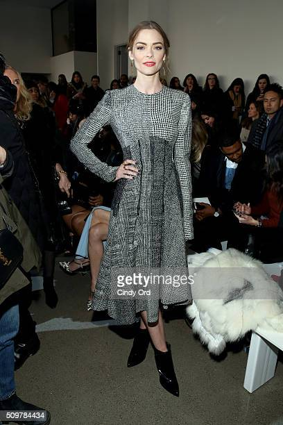 Actress Jaime King attends the Jason Wu Fall 2016 fashion show during New York Fashion Week at Spring Studios on February 12 2016 in New York City