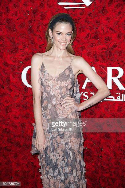 Actress Jaime King attends the Qatar Airways Los Angeles Gala at Dolby Theatre on January 12 2016 in Hollywood California