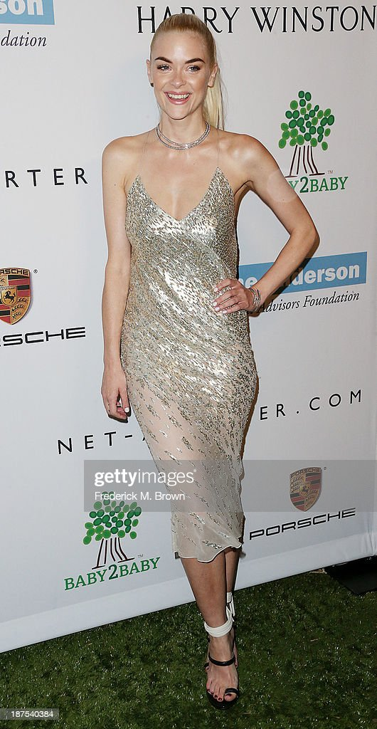 Actress Jaime King attends the Second Annual Baby2Baby Gala at the Book Bindery on November 9, 2013 in Culver City, California.
