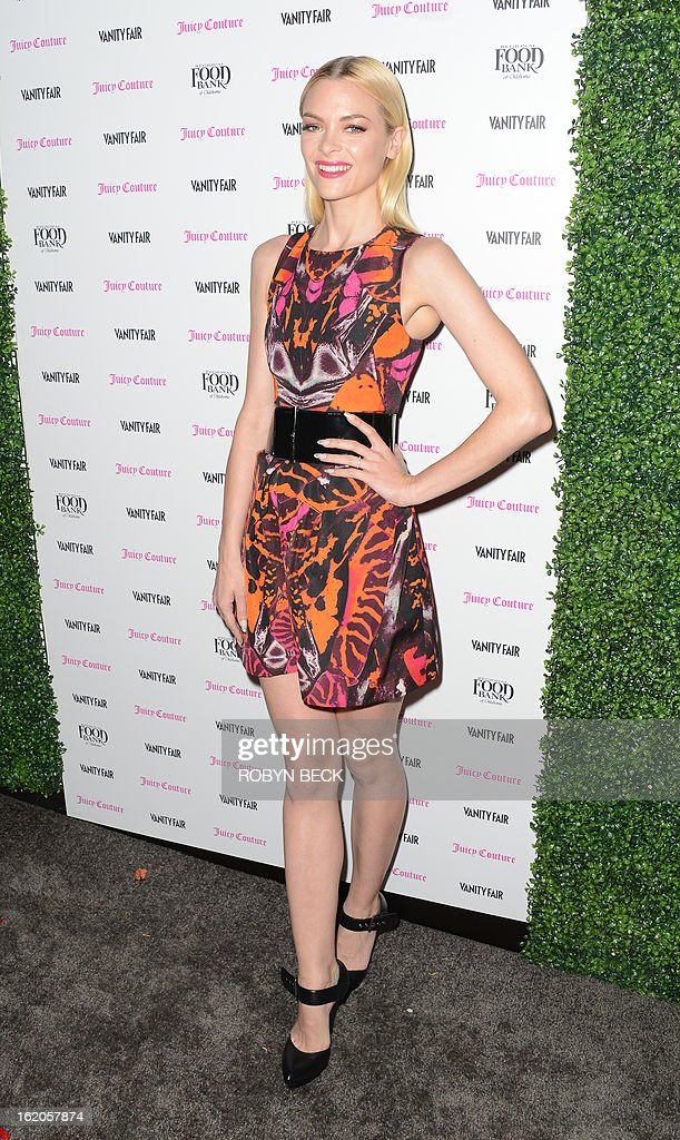 Actress Jamie King attends the Vanity Fair And Juicy Couture Celebration Of The 2013 Vanities Calendar party at Chateau Marmont February 18, 2013 in West Hollywood, California. AFP PHOTO Robyn BECK