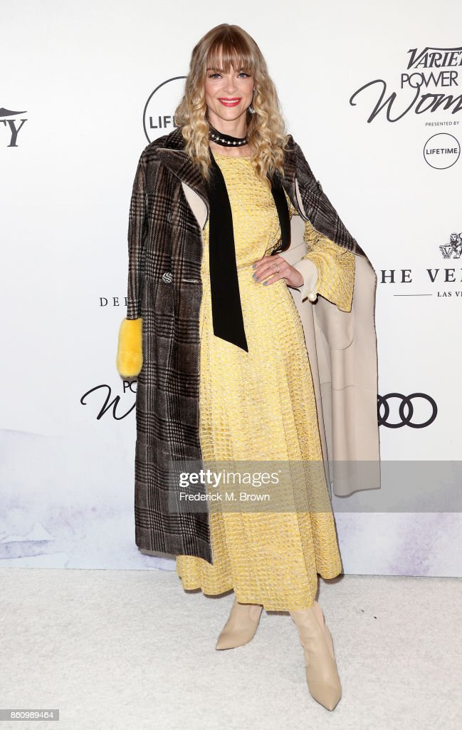 Actress Jaime King attends the Variety's Power Of Women at the Beverly Wilshire Four Seasons Hotel on October 13, 2017 in Beverly Hills, California.